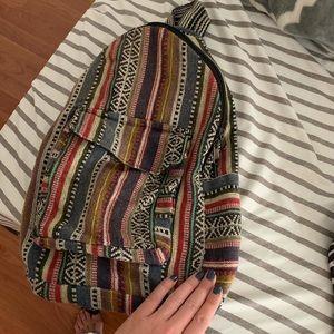 Mini beach backpack